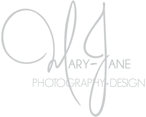 Brisbane Wedding & Portrait Photographer » Mary-Jane Photography & Design logo